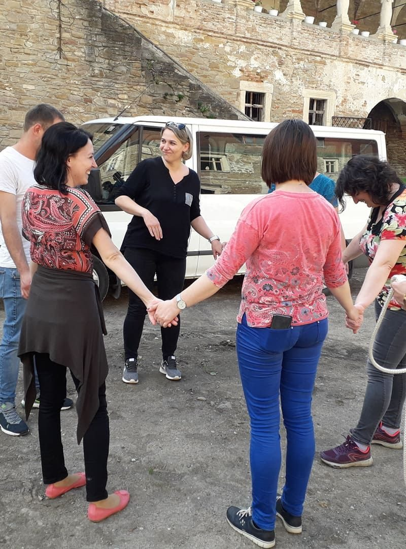 Methodology presentation for Educators at Children's Home in Romania